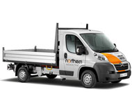Tipper Van Hire
